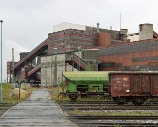 Bergwerk General Blumenthal/Haardt Schacht 11, auch bekannt unter Shamrock Schacht 11.