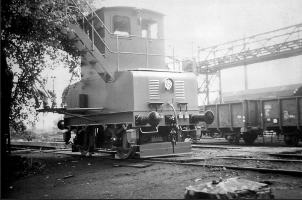 Die AEG Kokslöschlokomotive